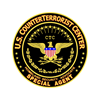 COUNTERTERRORIST CENTER - Oval Sticker