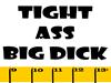 Ruler Tight Ass Big Dick Rectangle Sticker