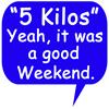 Good Weekend Button