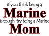 Being a Marine Mom Large Coffee Mug