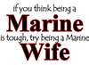 Being a Marine Wife Large Coffee Mug