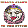 Killer Clowns Oval Sticker