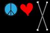 Peace Love Twirling
