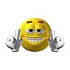 Rude Emoticon Finger