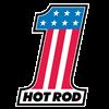 Number One Hot Rod Women's Plus Size V-Neck Dark T
