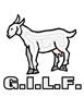 G.I.L.F. Rectangle Sticker