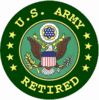 Served In Korea<BR>Army Retired