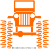 orange big wheel