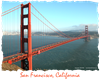 Golden Gate Bridge - Red