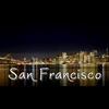 San Francisco at night Women's Plus Size V-Neck T-
