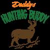 Daddy's Hunting Buddy Ornament (Round)