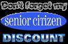 Senior Citizen Discount Men's Light Pajamas