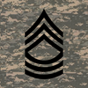 Master Sergeant Tile Insignia Box 4