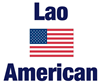 Lao American Large Coffee Mug