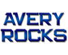 avery rocks Oval Sticker