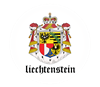 Liechtensteiner Coat of Arms Oval Sticker