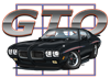 Black Pontiac GTO Coffee Mug