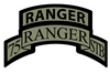 75th Ranger STB Scroll/tab