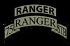 75th Ranger STB Scroll/tab Organic Men's T-Shirt (