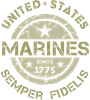 Marines 1775 armygreen Coffee Mug