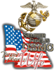 USMC Marine Wife - Coffee Mug