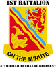 DUI - 1st Bn - 37th FA Regt with Text Rectangle Ma