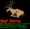 Dear Santa Shot Reindeer Pran