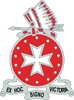 DUI - 1st Bn - 14th FA Regt with Text Light T-Shir