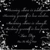 - Tao Te Ching # 33