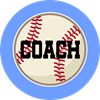 Baseball Coach Gift Ornament (Round)