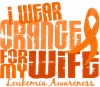I Wear Orange 6.4 Leukemia