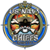 USN Navy Chiefs Backbone of the Fleet Women's Long