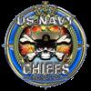 USN Navy Chiefs Backbone of the Fleet Baseball Jer
