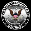 USN Aviation Ordnanceman Eagl Women's Light T-Shir
