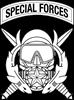 Combat Diver Supervisor w Tab B-W