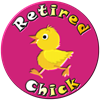 Retired Chick Women's Dark Pajamas