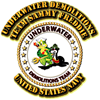 US Navy - Emblem - UDT - Sammy - Freddie Kids Dark