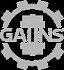GAIINS Cog Logo Grey