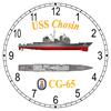 USS Chosin CG-65 Clock