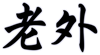 Laowai (Foreigner in Mandarin Chinese) Coffee Mug