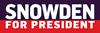Snowden for Presdient Coffee Mug