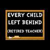 Retired Teacher Luggage Tag