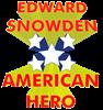 EDWARD SNOWDEN AMERICAN HERO Baseball Jersey