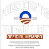 Obama Presidents Enemey List Member
