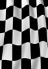 Black Racing Flag Checkerboard