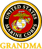 USMC Grandma Coffee Mug