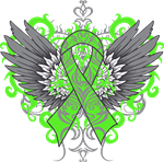 lime green ribbon tattoo from stupid and funny t shirt gifts. Black Bedroom Furniture Sets. Home Design Ideas