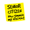 Senior citizen discount Pajamas