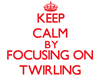 Keep Calm by focusing on Twirling Magnets