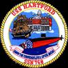 USS HARTFORD Thermos® Bottle (12oz)